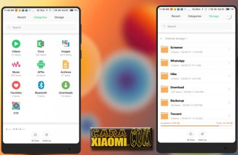 Download Tema Samsung S8 Untuk Xiaomi MIUI V9