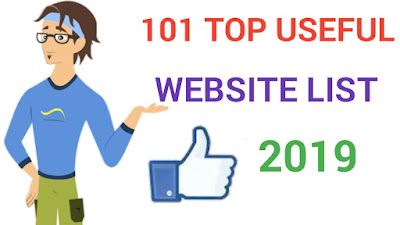 101 Top Useful Website list [2019]