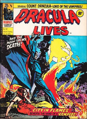 Marvel UK, Dracula Lives #59