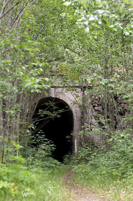 halikko hylätty rautatietunneli