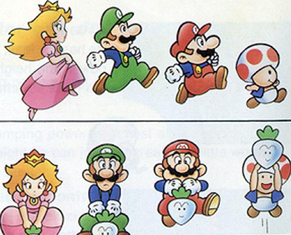 Personagens Mario Desenhos T E
