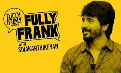 "Fully Frank with Sivakarthikeyan – ""I am no more the boy next door"""
