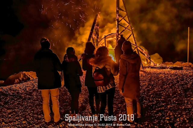 """49.Spaljivanje pusta """"Gobota"""" @ Mošćenička draga 14.02.2018"""