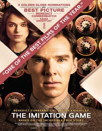 Poster Of The Imitation Game 2014 English 350MB BRRip 480p ESubs Watch Online Free Download downloadhub.net