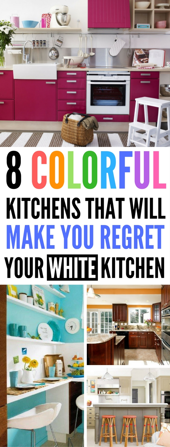 DIY Kitchen Colorful Kitchens Kitchen Ideas Colorful Kitchen Ideas DIY Home Decor  sc 1 st  Craftsonfire & 8 DIY Kitchen Color Ideas That Will Make You Regret Decorating Yours ...