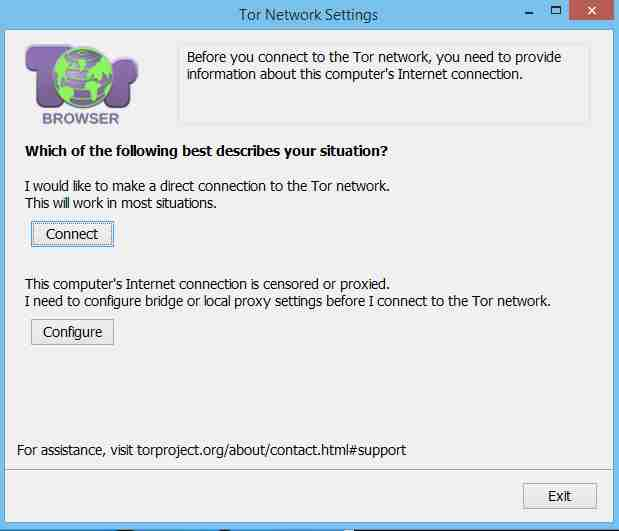 Connecting-Tor-Browser-To-Sever