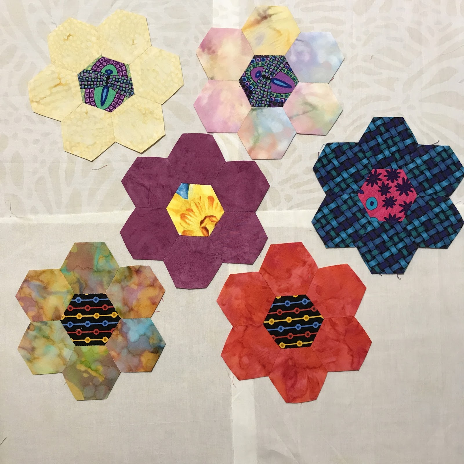 A Dad who dyes fabrics and quilts June 2017