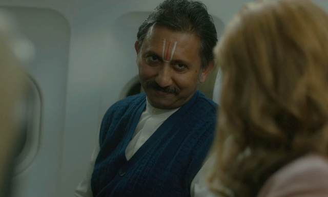 Neeraj Kabi as Krishanmurthi in The Final Call, ZEE5 Original