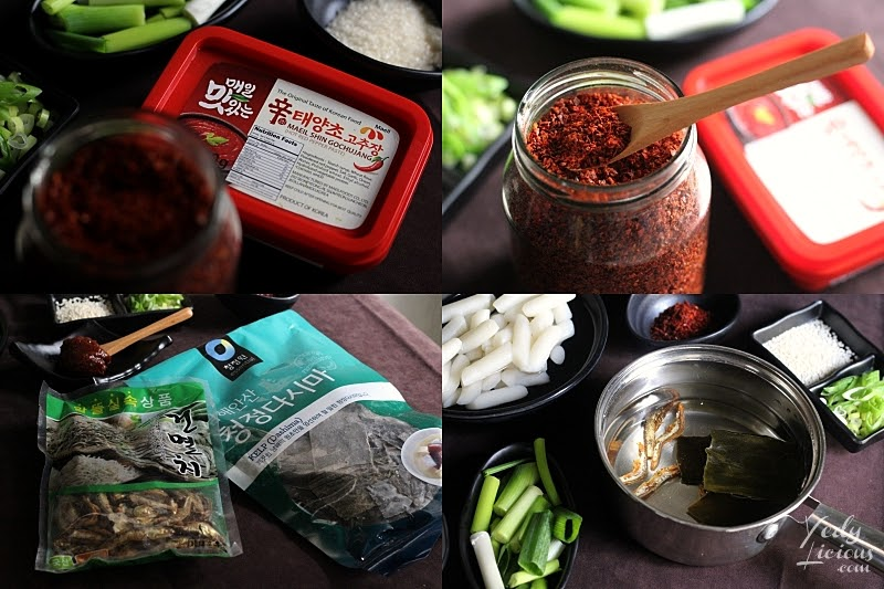 Gochujang, Gochugaru, Korean Anchovy Stock, How To Make Tteokbokki Dukbokki Toppoki Korean Spicy Rice Cake Recipe, Popular Korean Street Food Snack Recipe, 떡볶이, Best Easy Tteokbokki Recipe, Tteokbokki Manila, Korean Food Recipe, Where To Buy Tteokbokki Korean Spicy Rice Cake in Manila, Top Best YedyLicious Manila Food Blog, Yedy Calaguas