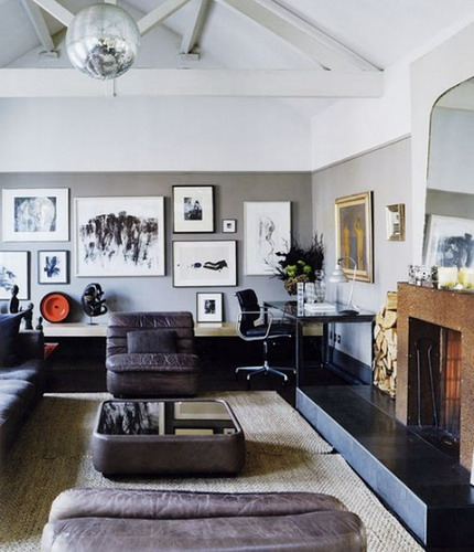 beautiful disco ball lights to enhance the interior modern interior design for small living room modern interior design for small living room