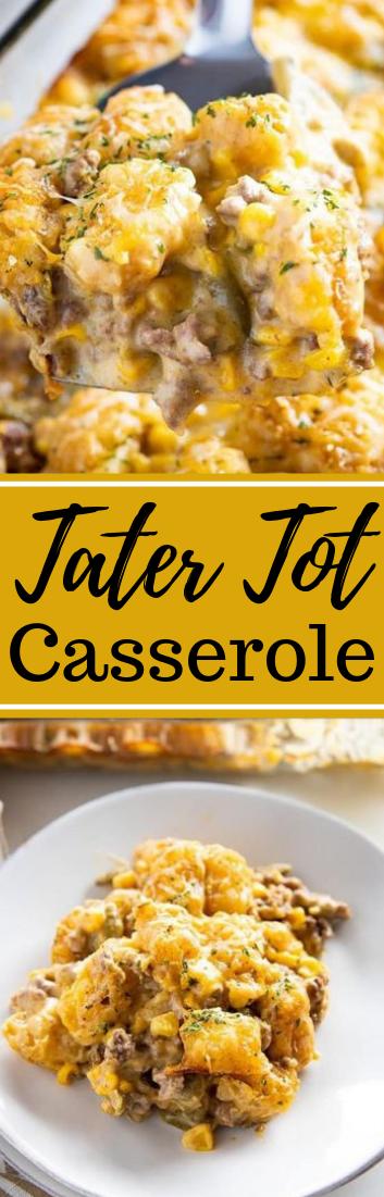 Tater Tot Casserole #healthyfood