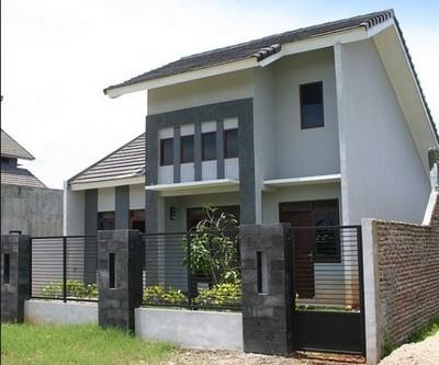 rumah minimalis 2 lantai sederhana murah type 45