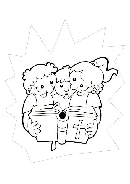 Dibujos Para Pintar De Ninos Leyendo Dibujo De Un Niño Leyendo Un