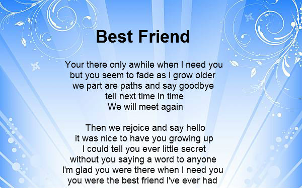 Best Friendship Day 2016 Poems | Happy Friendship Day Poems For Friends