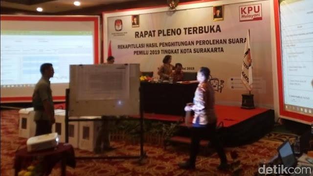 Menang Telak di Solo, Jokowi Kantongi 82,23% Suara