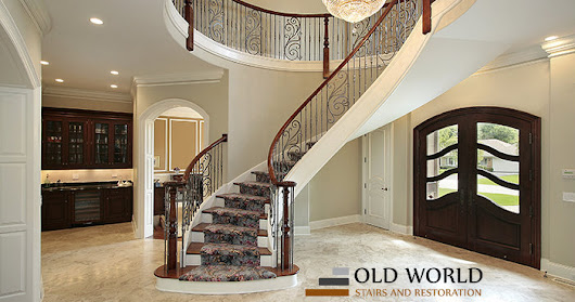 Staircase Restoration : Way To The Reinvented Elegance