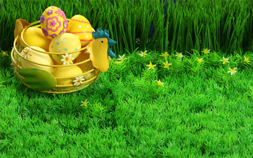 Easter Basket Wallpaper
