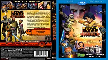 Star Wars Rebels - Primera Temporada - Bluray