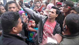 Varun Dhawan selfie