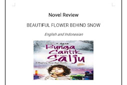 Resensi Novel Bunga Cantik di Balik Salju Versi Bahasa Inggris dan Indonesia
