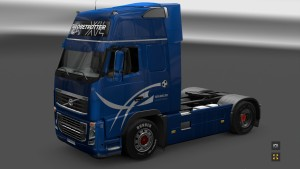 South Africa 2010 Limited Edition Skin for Volvo FH 2009