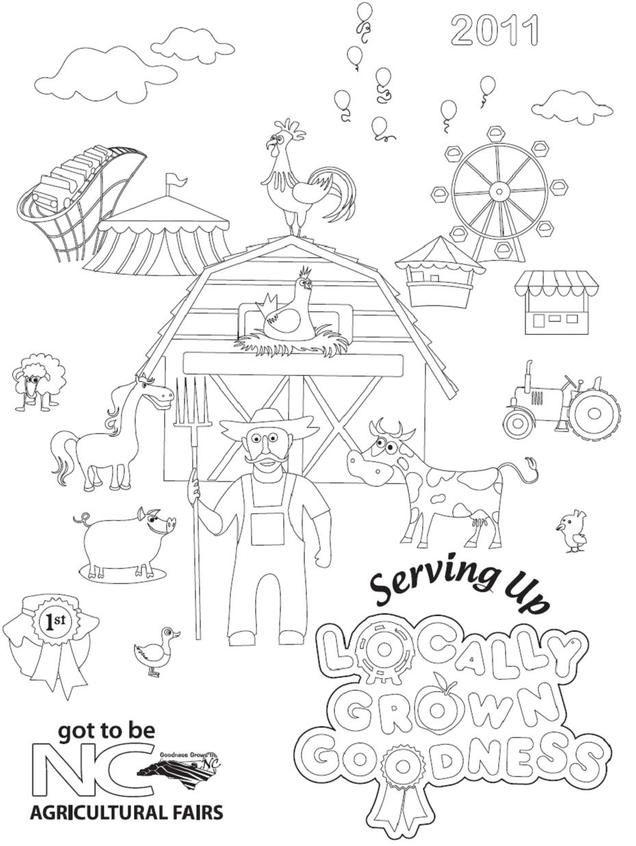 mississippi state fair coloring pages - photo #1