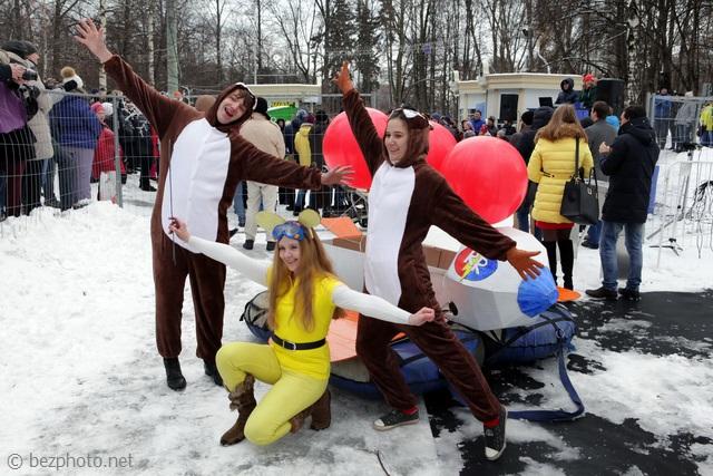 iv фестиваль необычных саней battle сани