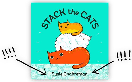 Stack the Cats by Susie Ghahremani comes out on May 2nd!