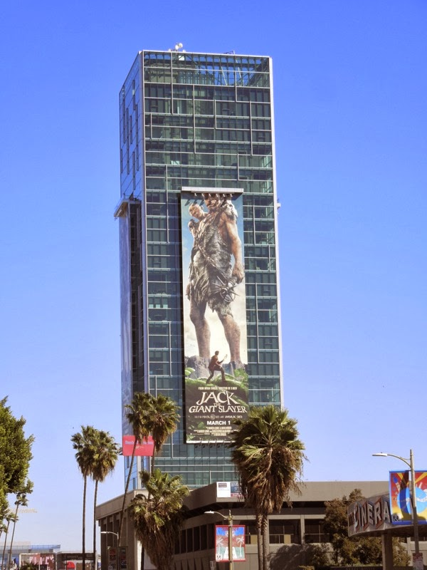 Jack The Giant Slayer movie billboard