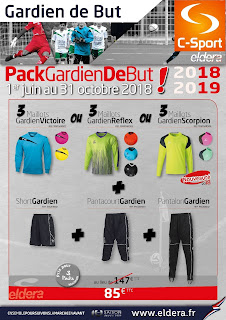 Packs Gardien de But Eldera 2018