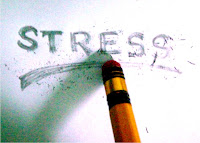 pencil erase stress