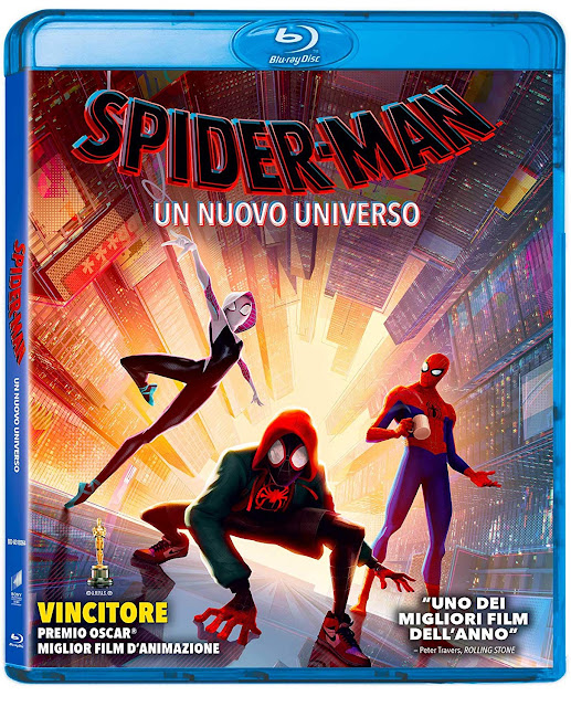 Spider-Man Un Nuovo Universo Home Video