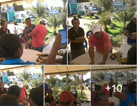 Jornada de Solidaridad en donación de alimentos realizó VP para familias afectadas por anegaciones en San Juan de Payara. Apure.