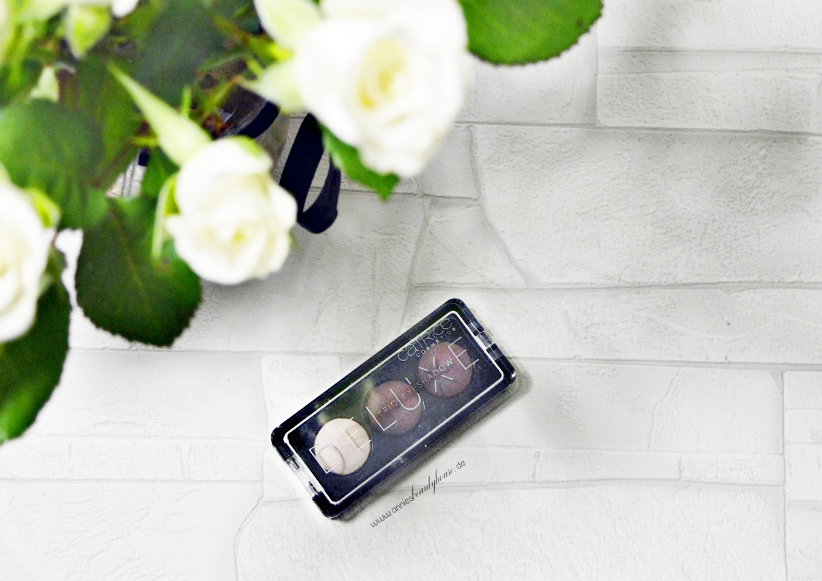 Catrice Eyeshadow DeluxeTrio N° 030 - Rose Vintouch Top View 1