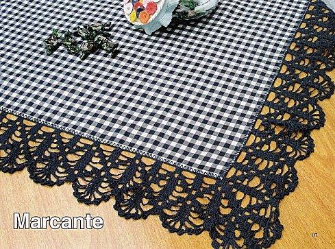 Grande Varietà Di Bordi Alluncinetto Crochet Endings Doda Crochet