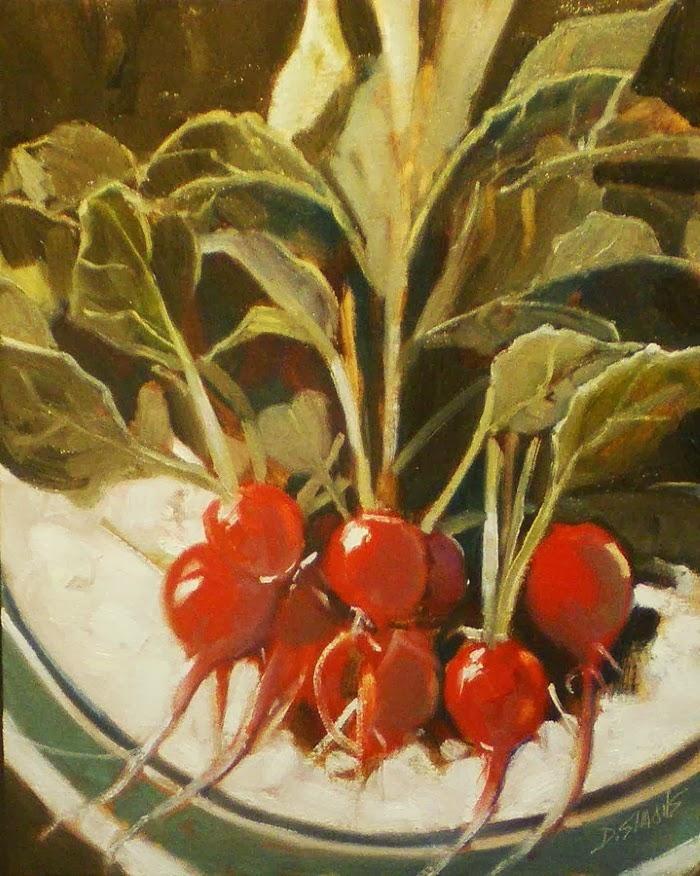 Масляная живопись. David Simons