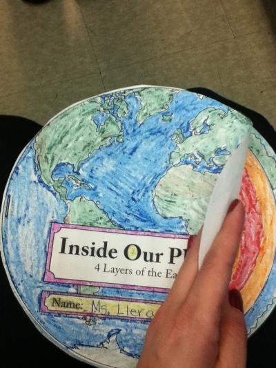 little miss teacher  earth u0026 39 s layers