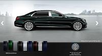 Mercedes Maybach S450 4MATIC 2019 màu Xanh Emerald 989