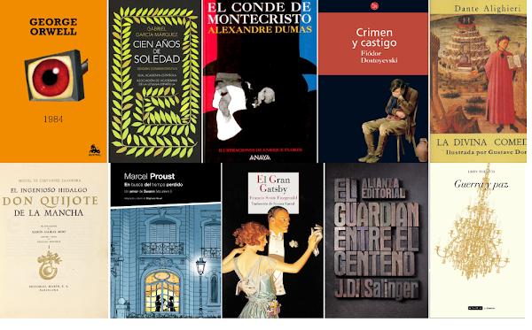 Las 25 mejores obras literarias de todos los tiempos (Reseña y descarga)