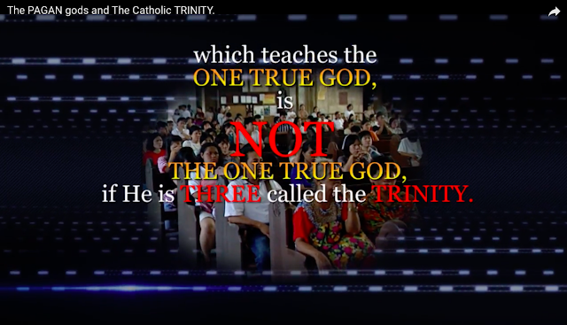 which teaches the ONE TRUE GOD, is NOT the ONE TRUE GOD, if He is THREE called the TRINITY.