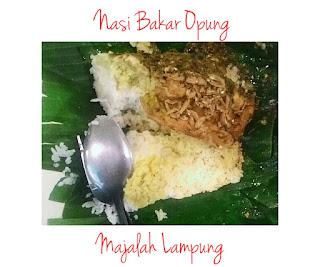 Nasi Bakar Opung Bandar Lampung