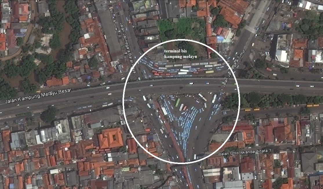 INFO JAKARTA: TERMINAL BIS KAMPUNG MELAYU, JAKARTA