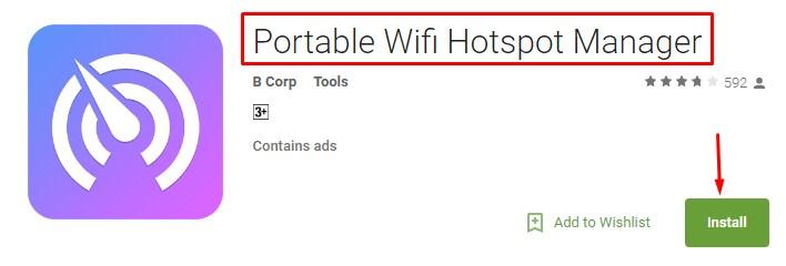 wifi hotspot meter