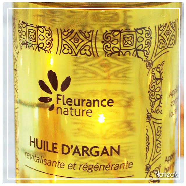 packaging Huile d'argan bio de Fleurance Nature