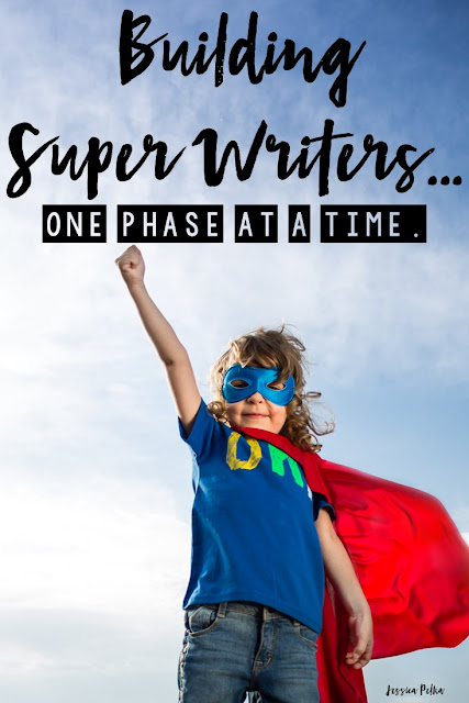 3 Logical Phases to SUPER KINDER Writers!