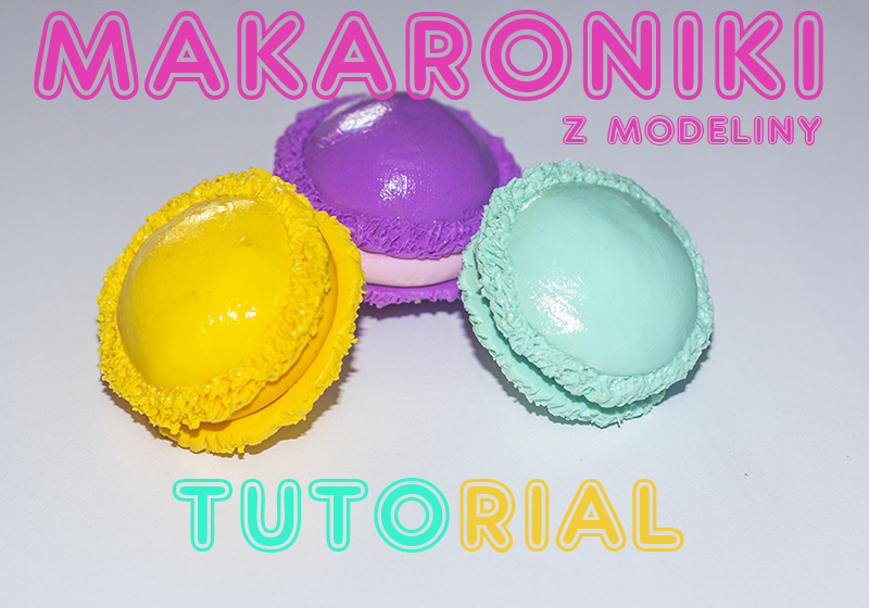 macaroons polymer clay