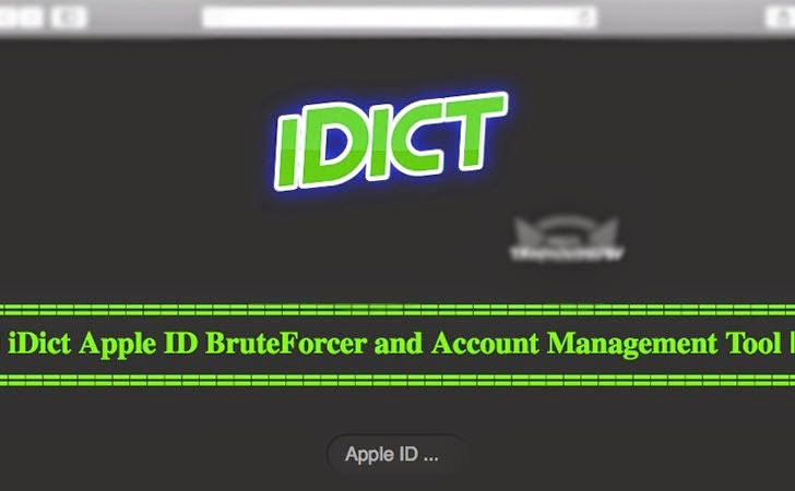 Hacker Released 'iDict' Tool That Can Hack Your iCloud Account