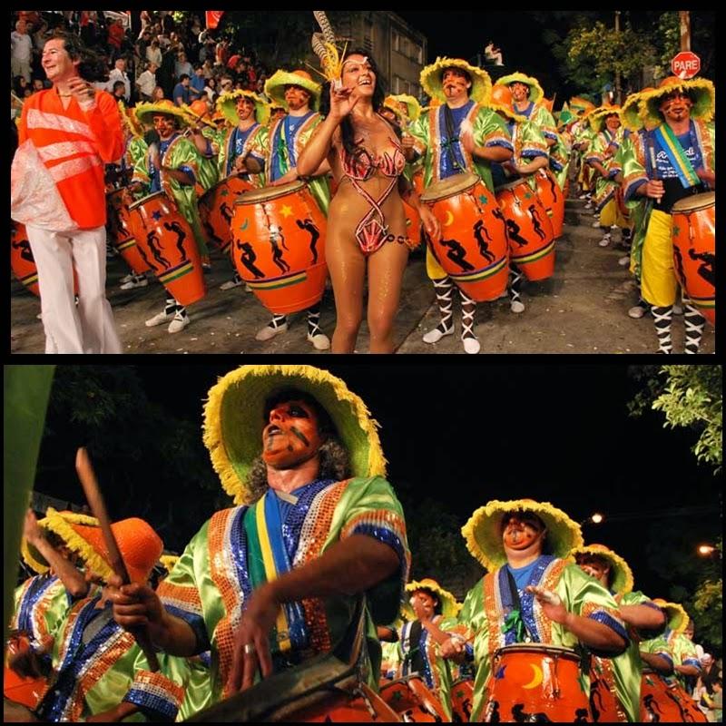 Carnaval. Desfile de Llamadas. Makalé. 2010.