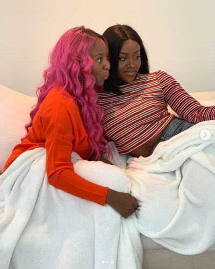 DJ Cuppy And Chioma Link Up (Photos)