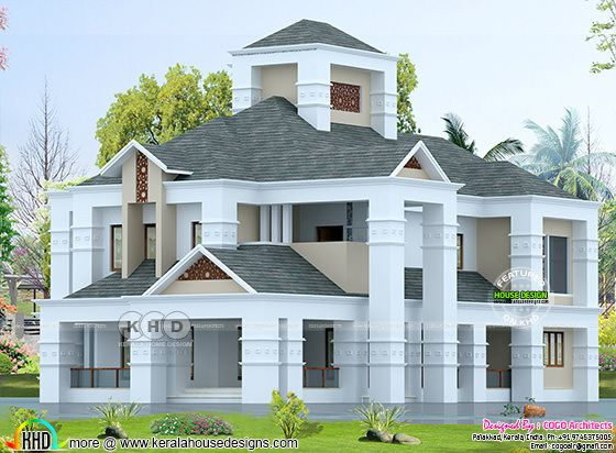 Colonial style luxury home 5 bedroom